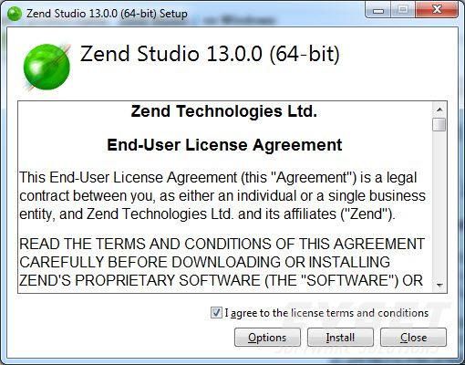 Zend Studio使用教程:在Windows上进行安装