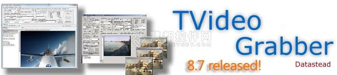 视频捕捉工具TVideoGrabber 8.7发布,视频捕捉和多媒体播放器