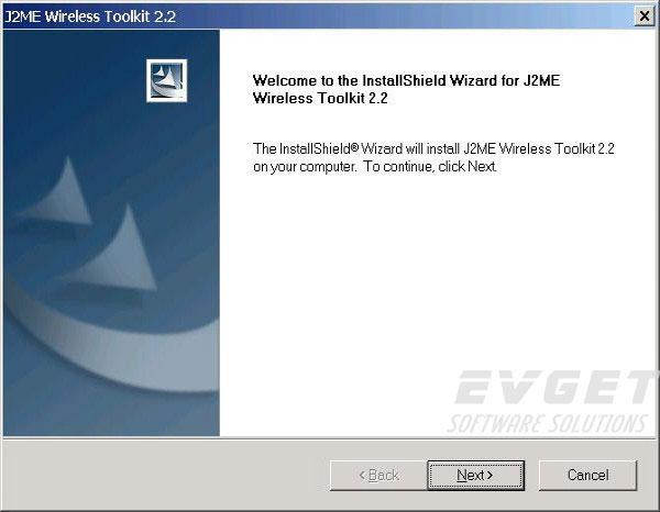 J2me Wireless Toolkit 1.0.3  Software
