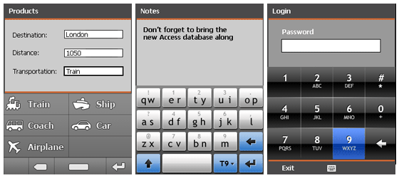 Resco MobileForms Toolkit - CustomKeyboard大图