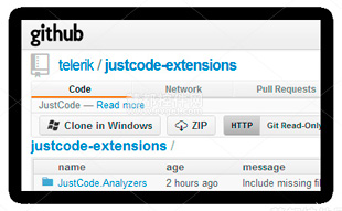 JustCode,Extensible