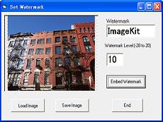一款包含5个子控件的多功能图像处理控件