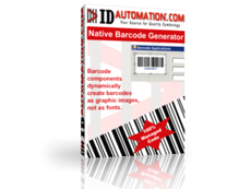 Native Barcode Generator for Crystal Reports