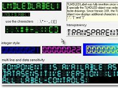 集成了400多个纯VCL控件的用户界面集合