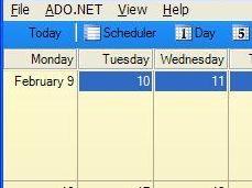 为你的应用程序快速嵌入功能齐全的日历/资源/时间设定程序及Gantt图