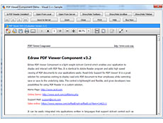 Edraw PDF Viewer Component