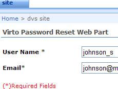 可以使任何登录SharePoint的用户在不用联系管理员的情况下重置活动目录或FBA密码的Web组件。