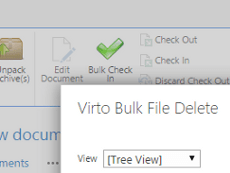 SharePoint Bulk File Delete Web Part