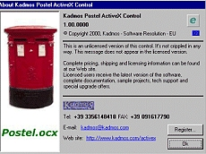 Postel ActiveX Control