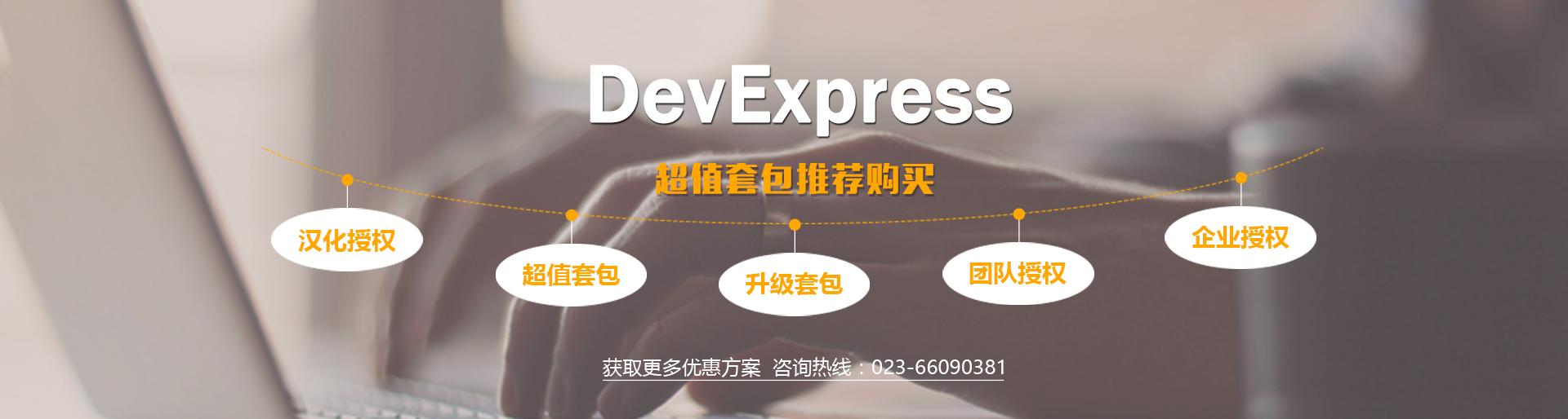 DevExpress企业集团授权