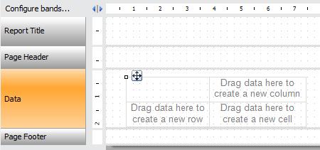 如何在网页报表中创建交互式矩阵