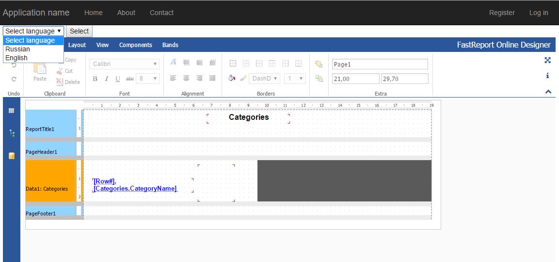 如何实现报表在线设计器和Web报表的本地化