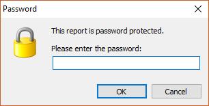 在FastReport.Net中,如何给报表加密