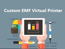Custom EMF Virtual Printer