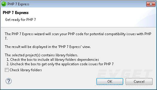 在Zend Studio中:使用PHP 7进行开发