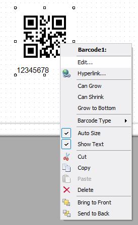 如何在FastReport.Net中使用QR二维码