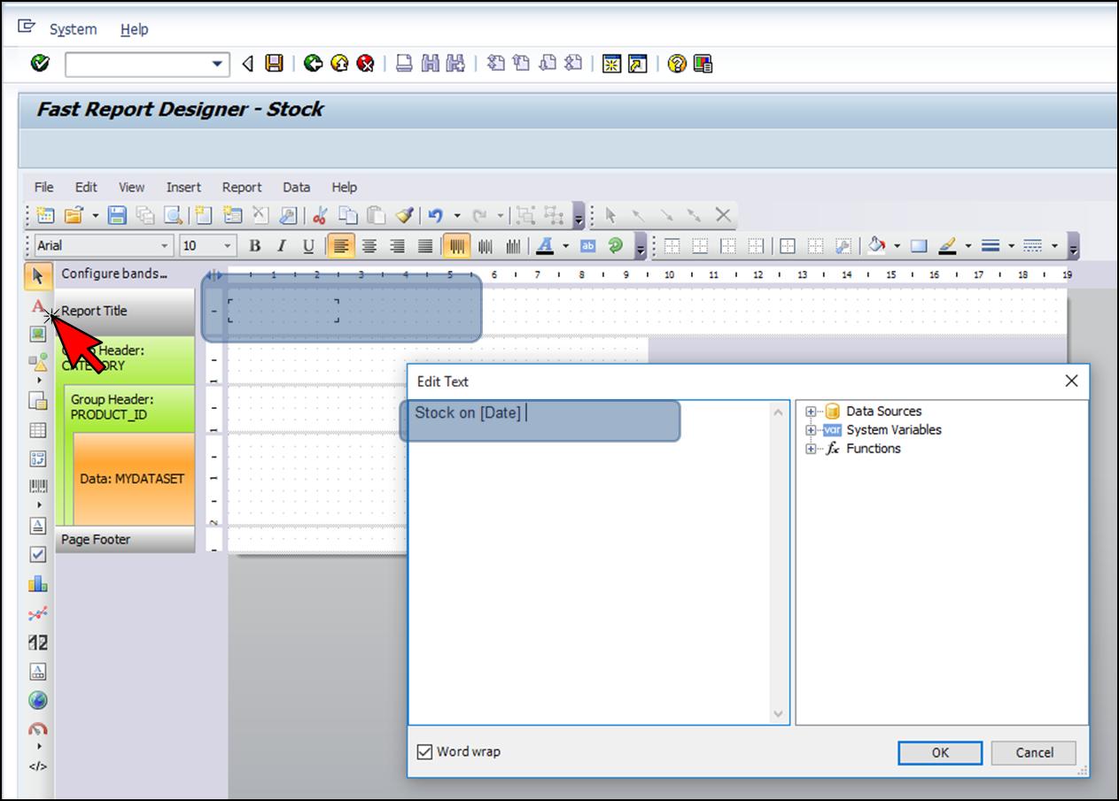 如何使用FastReport.Net在SAP NetWeaver中生成报表 - 第1部分