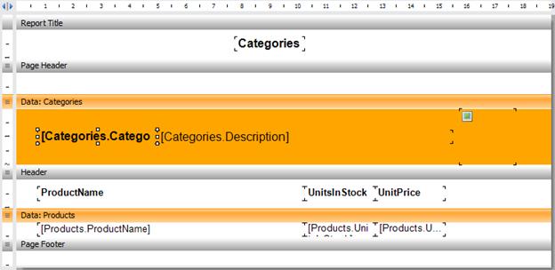 如何从不相关的表单中创建主从(Master - Detail)报表