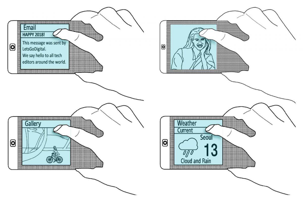 三星双面智能手机示意图[图源:Samsung/WIPO]