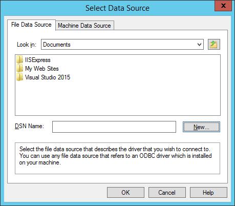 如何将报表连接到PostgreSQL数据库