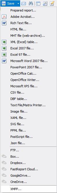 如何将报表导出到Jabber (XMPP)