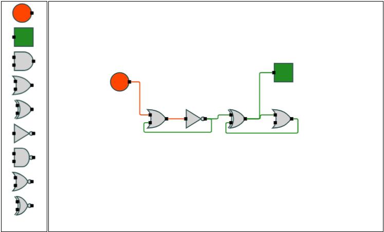 轻量级流程图控件GoJS示例连载(四):逻辑电路-控件新闻-慧都网