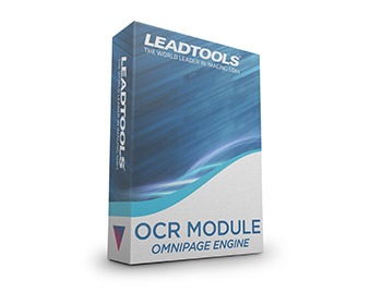 LEADTOOLS OCR Module - OmniPage Engine with Additional Languages