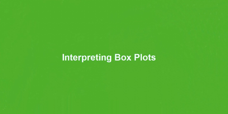 Qlik Sense入门视频教程:解读箱型图