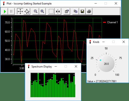 Iocomp's ActiveX/VCL Pro Pack专业版,工控仪表2