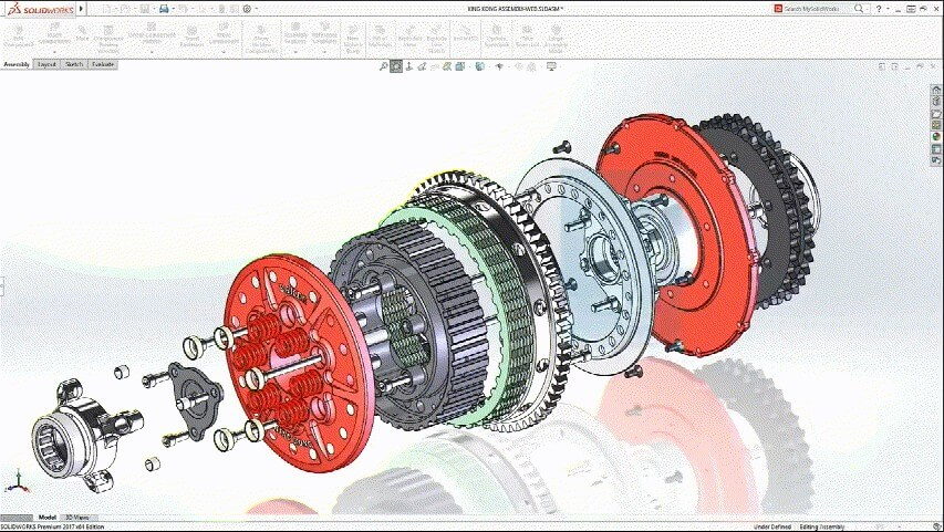 Solidworks 2d cad协作分析设计工具