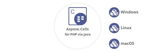 Aspose.Cells for PHP via Java平台独立