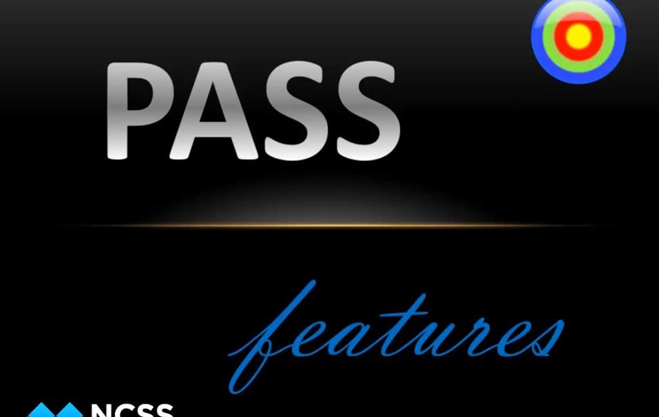 在PASS中对两种比例的置信区间样本量计算