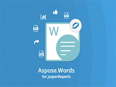 Aspose.Words for JasperReports授权购买