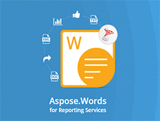 Aspose.Words for Reporting Services授权购买