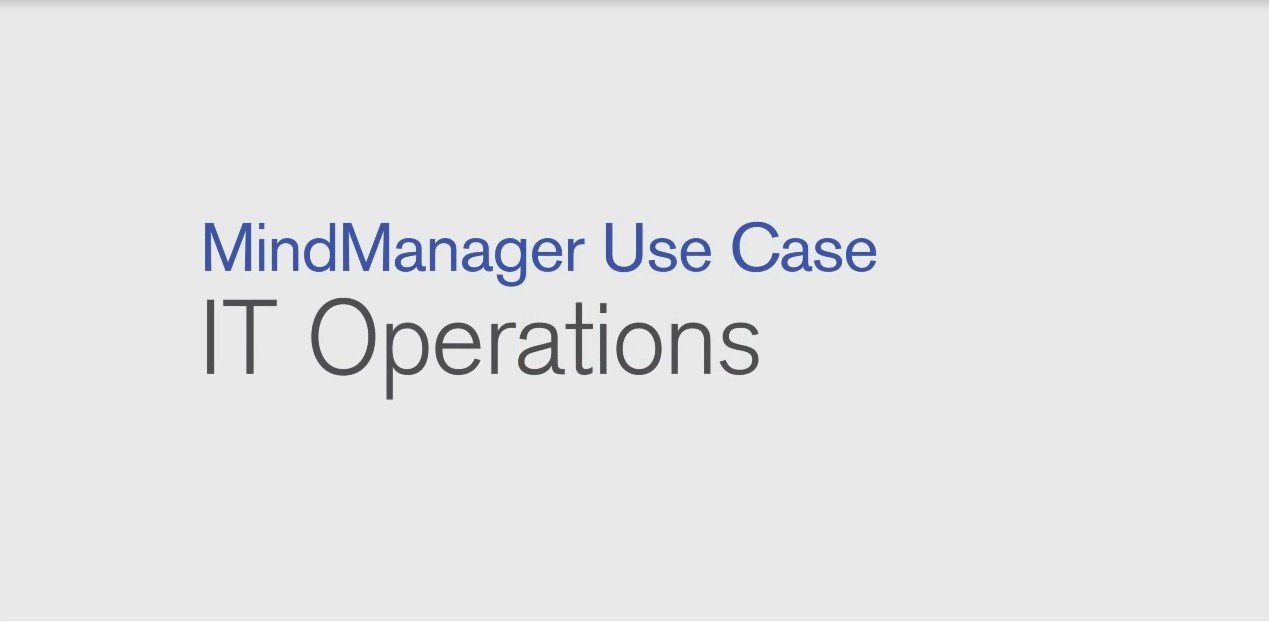 MindManager IT运营使用案例