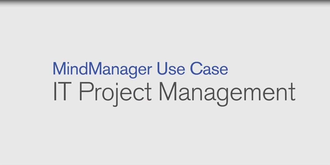 MindManager IT项目管理使用案例