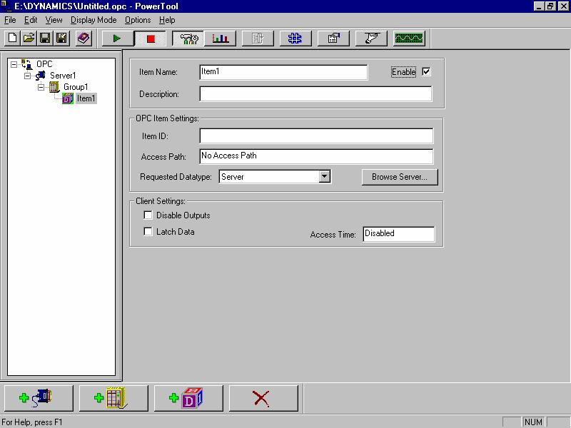 TOP Server 添加OPC项目05