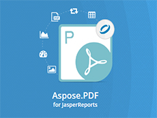 Aspose.Pdf for JasperReports授权购买