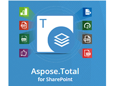 Aspose.Total for SharePoint授权购买