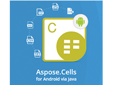 Aspose.Cells for Android via Java