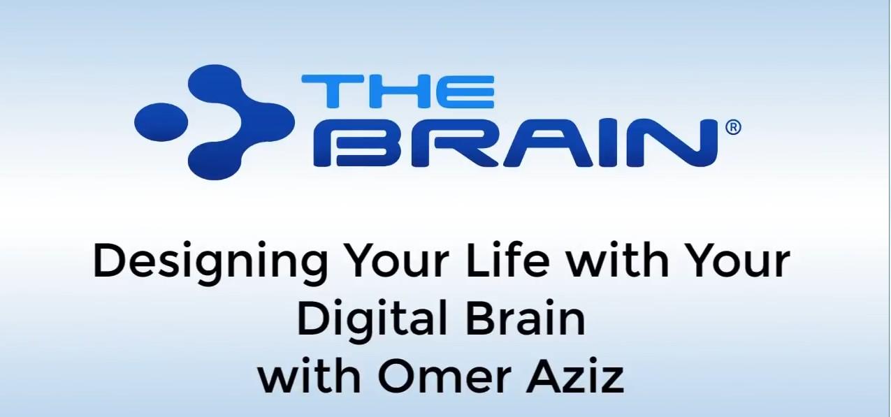 网络研讨会:和Omer Aziz一起用数字大脑设计你的生活