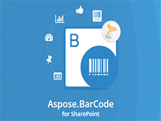 Aspose.BarCode for SharePoint授权购买
