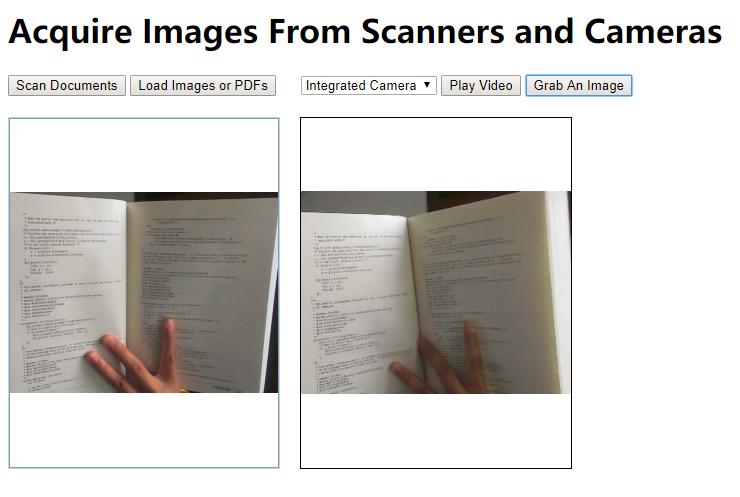 从扫描仪和相机中获取图像