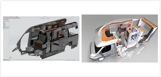 利用 SolidWorks 加速房车/专用车辆开发