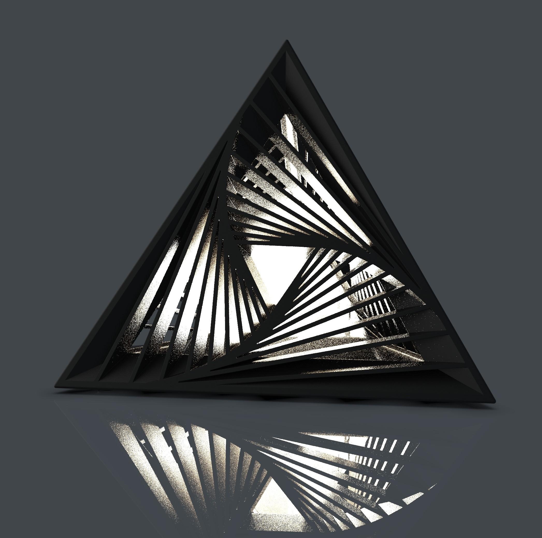 SolidWorks设计3D打印台灯
