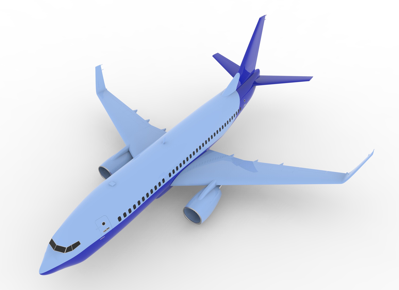 用SolidWorks设计波音737