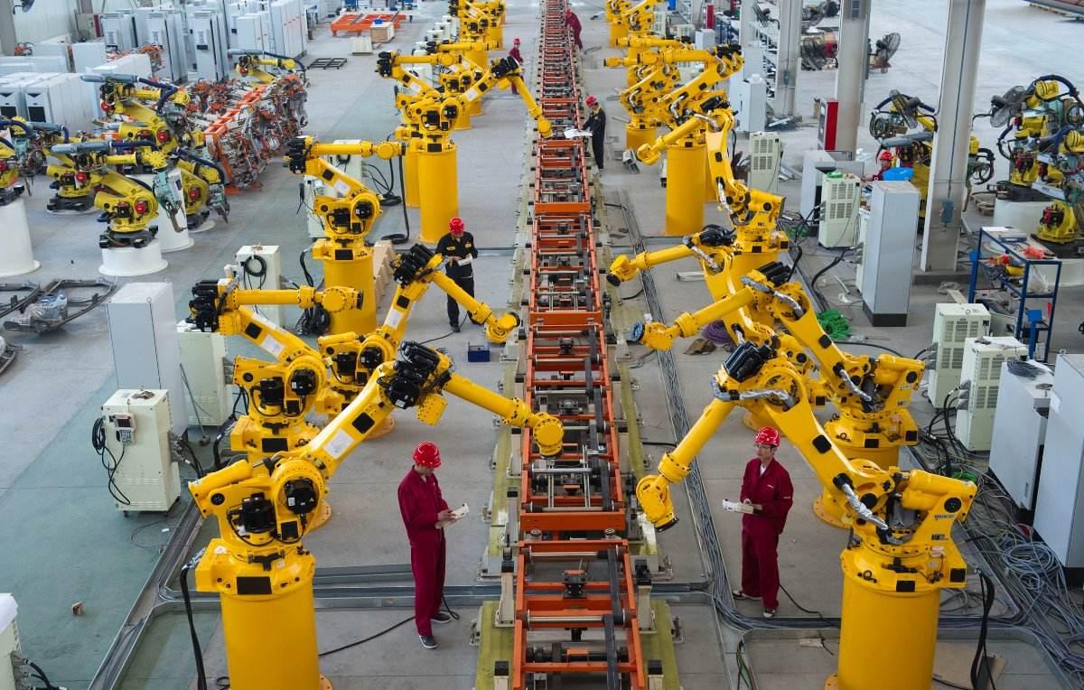 工业自动化车间
