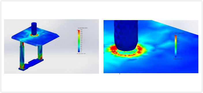 利用 SOLIDWORKS Simulation 促进地下采矿设备开发