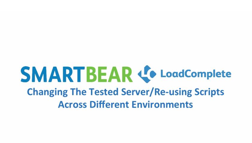 【基础教程】关于在LoadComplete中跨不同环境重用脚本