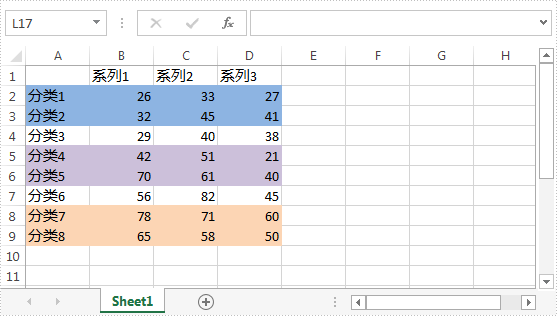 Use-Discontinuous-Data-Range-to-Create-Chart-in-Excel-1